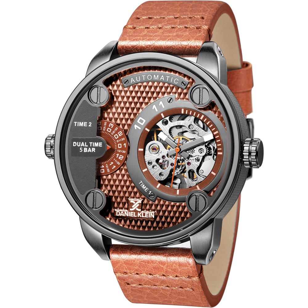 1+1 GRATIS – Ceas pentru barbati Daniel Klein Automatic DK11257-5