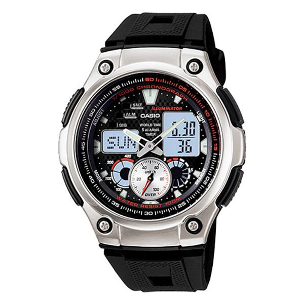 Ceas pentru barbati, Casio Analog Digital, AQ-190W-1AVDF