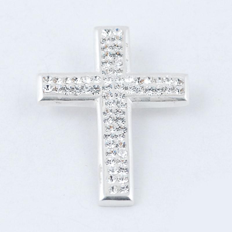 Pandantiv din Argint 925 cu cristale albe