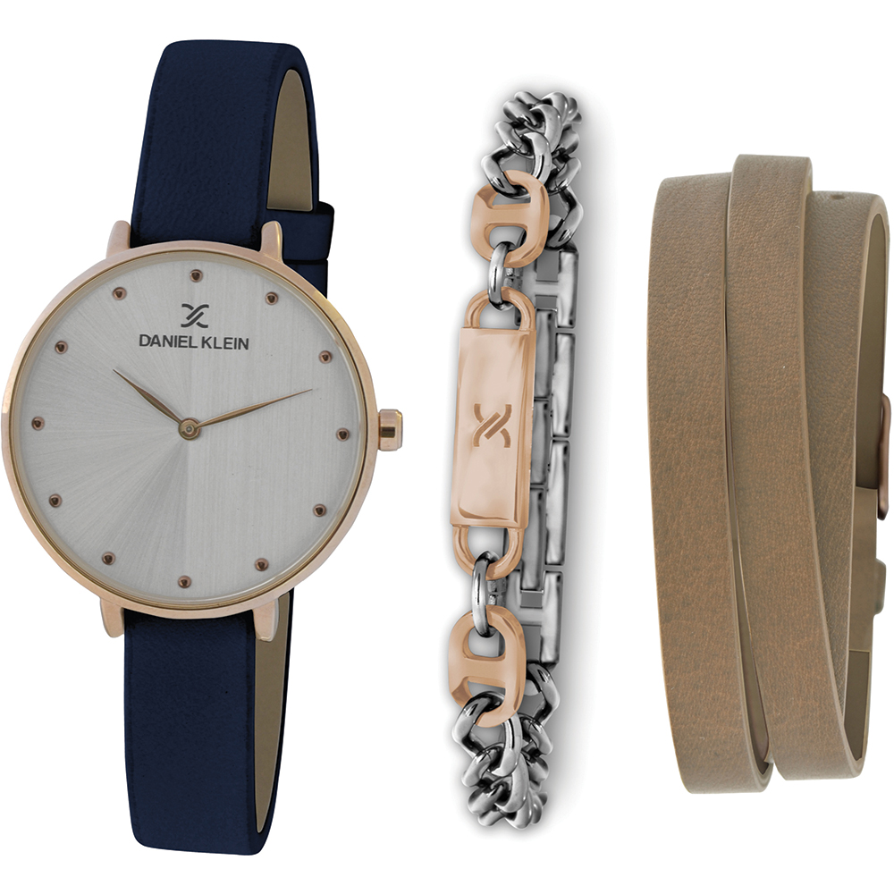 Ceas pentru dama, Daniel Klein Gift Set, DK11418-2