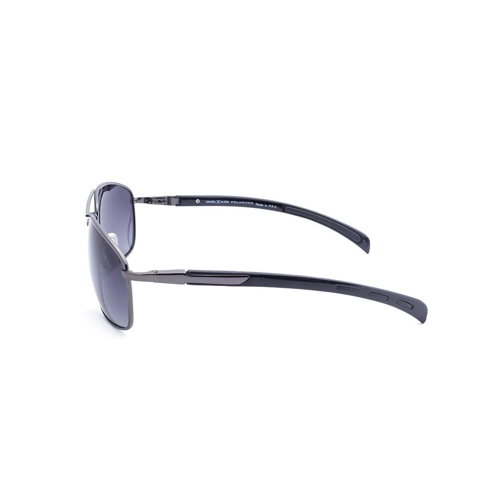 Ochelari de soare antracit, pentru barbati, Daniel Klein Premium, DK3148-6