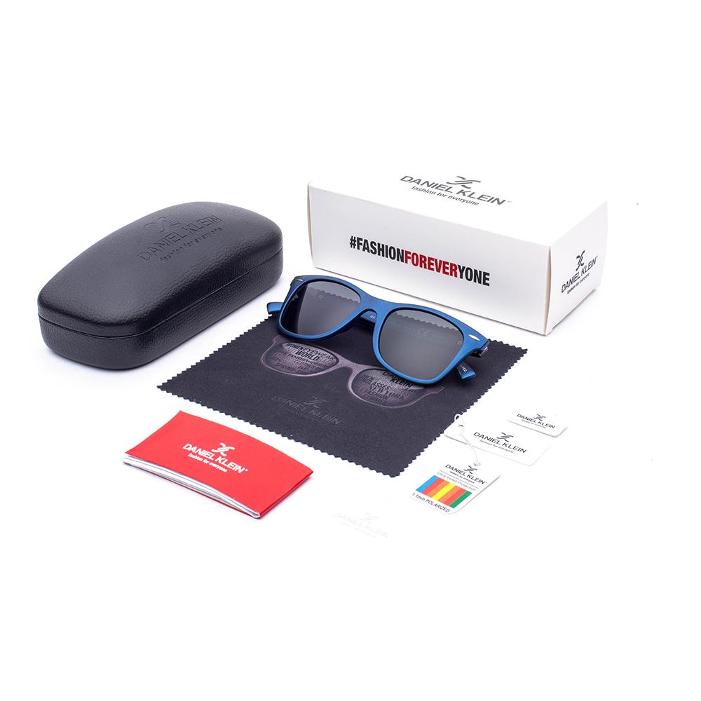 Ochelari de soare gri, pentru barbati, Daniel Klein Premium, DK3030-2