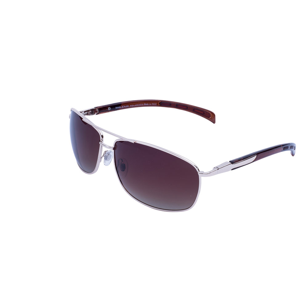 Ochelari de soare maro, pentru barbati, Daniel Klein Premium, DK3148-4