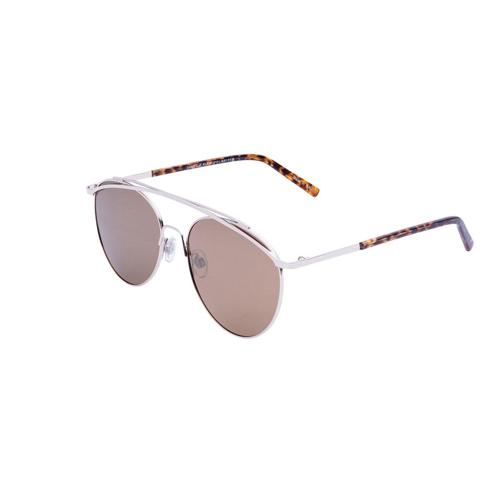 Ochelari de soare maro, pentru dama, Daniel Klein Trendy DK4174-4