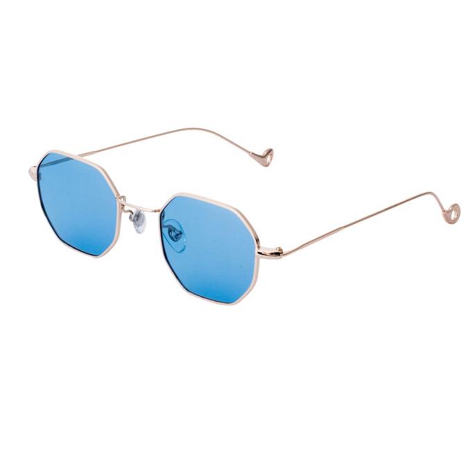 Ochelari de soare albastri, pentru dama, Daniel Klein Trendy, DK4183-5