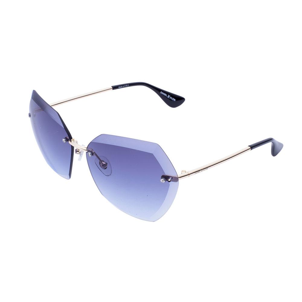 Ochelari de soare albastri, pentru dama, Daniel Klein Trendy, DK4188P-4