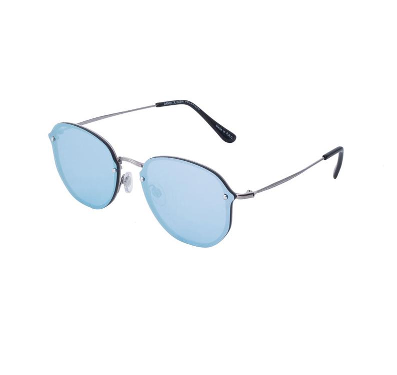 Ochelari de soare albastri, pentru dama, Daniel Klein Trendy DK4229P-3