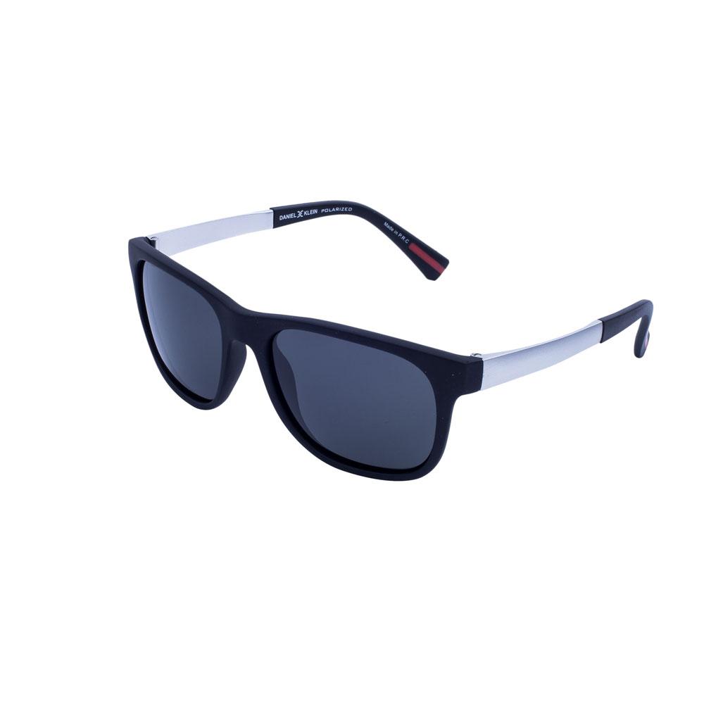 Ochelari de soare antracit, pentru barbati, Daniel Klein Premium DK3118-1