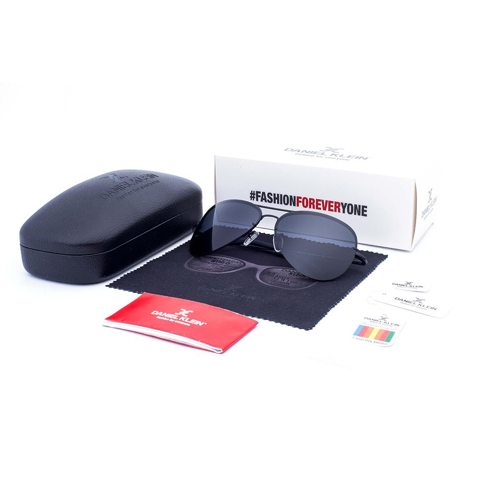Ochelari de soare gri, pentru barbati, Daniel Klein Premium, DK3164-2