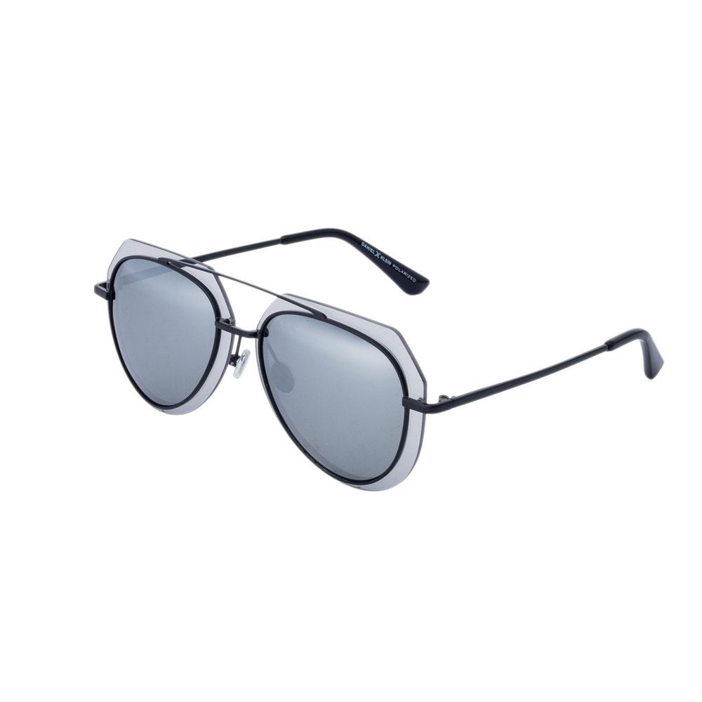 Ochelari de soare gri, pentru dama, Daniel Klein Trendy, DK4195-2