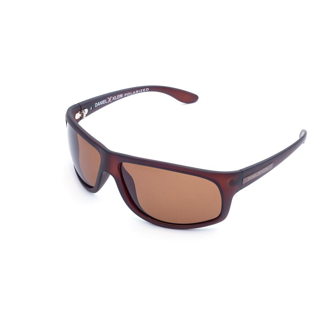 Ochelari de soare maro, pentru barbati, Daniel Klein Premium, DK3163-2