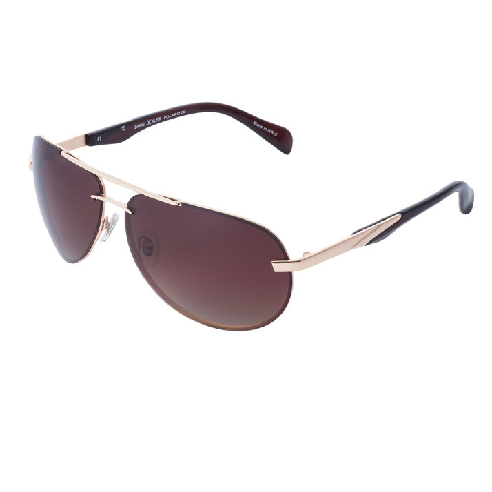 Ochelari de soare maro, pentru barbati, Daniel Klein Premium, DK3171-4