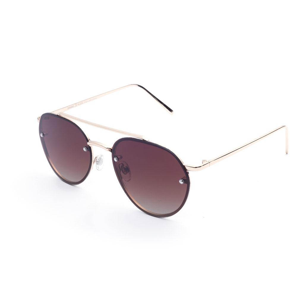 Ochelari de soare maro, pentru dama, Daniel Klein Trendy, DK4162-6