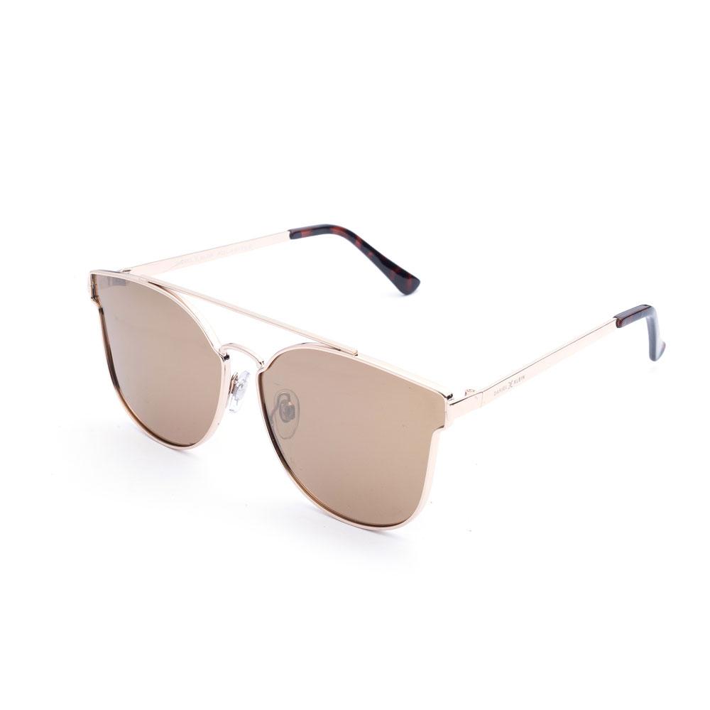 Ochelari de soare maro, pentru dama, Daniel Klein Trendy, DK4176-7