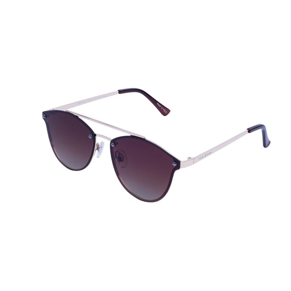 Ochelari de soare maro, pentru dama, Daniel Klein Trendy, DK4178-1