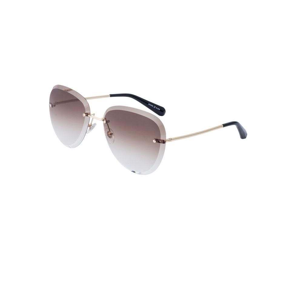 Ochelari de soare maro, pentru dama, Daniel Klein Trendy, DK4190P-2