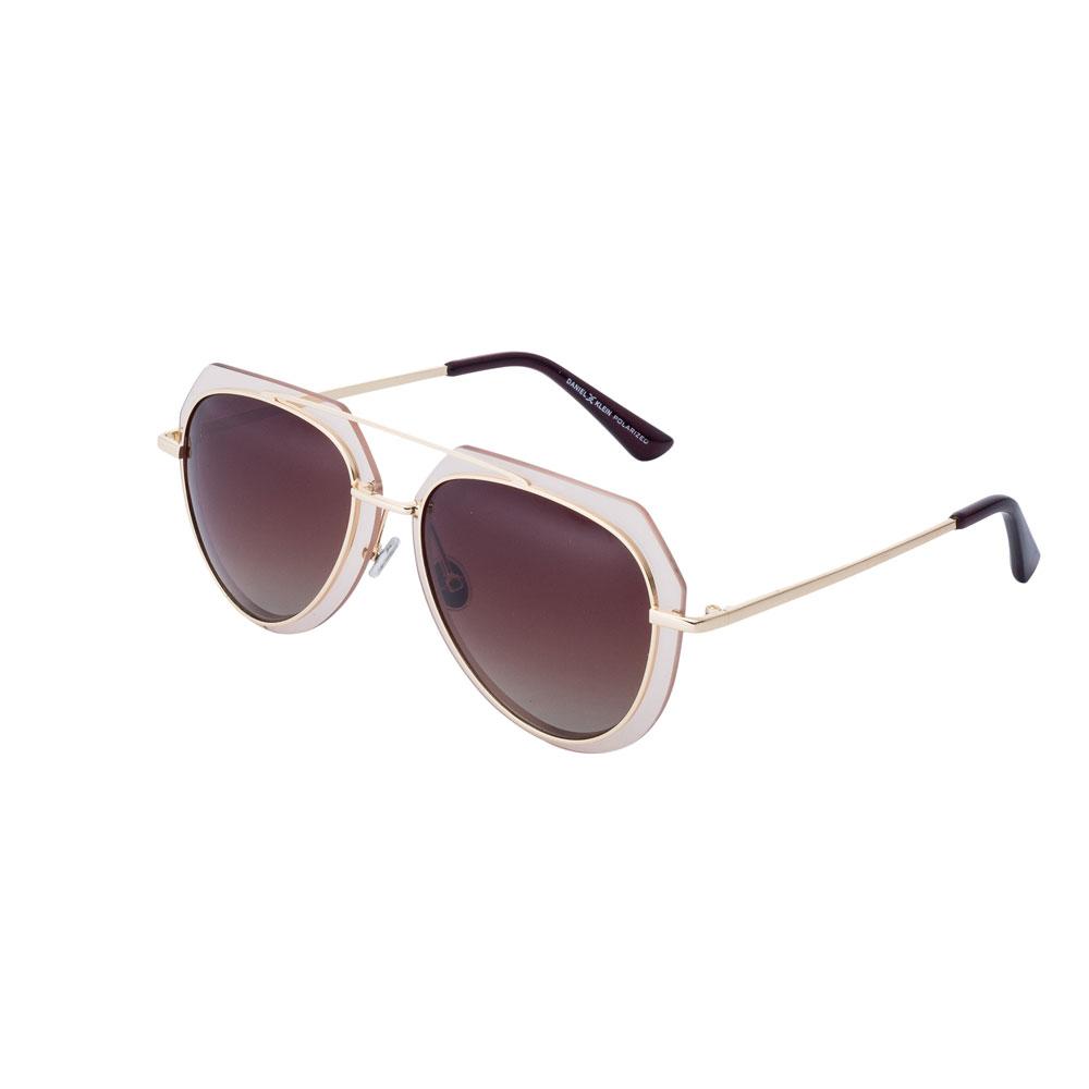 Ochelari de soare maro, pentru dama, Daniel Klein Trendy, DK4195-4
