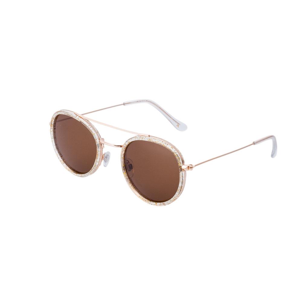 Ochelari de soare maro, pentru dama, Daniel Klein Trendy, DK4225-3