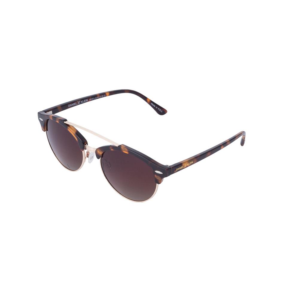 Ochelari de soare maro, pentru dama, Daniel Klein Trendy DK4226-2