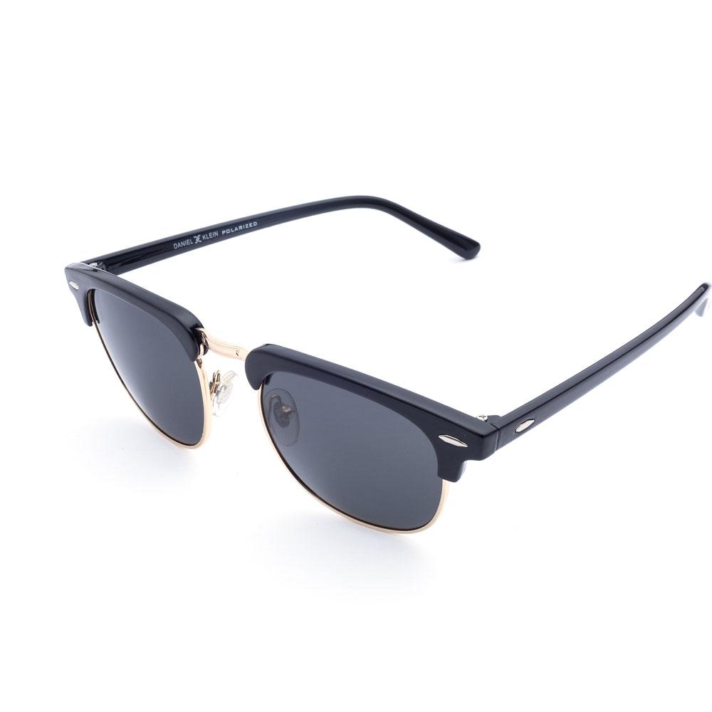Ochelari de soare negri, pentru barbati, Daniel Klein Premium DK3129-6