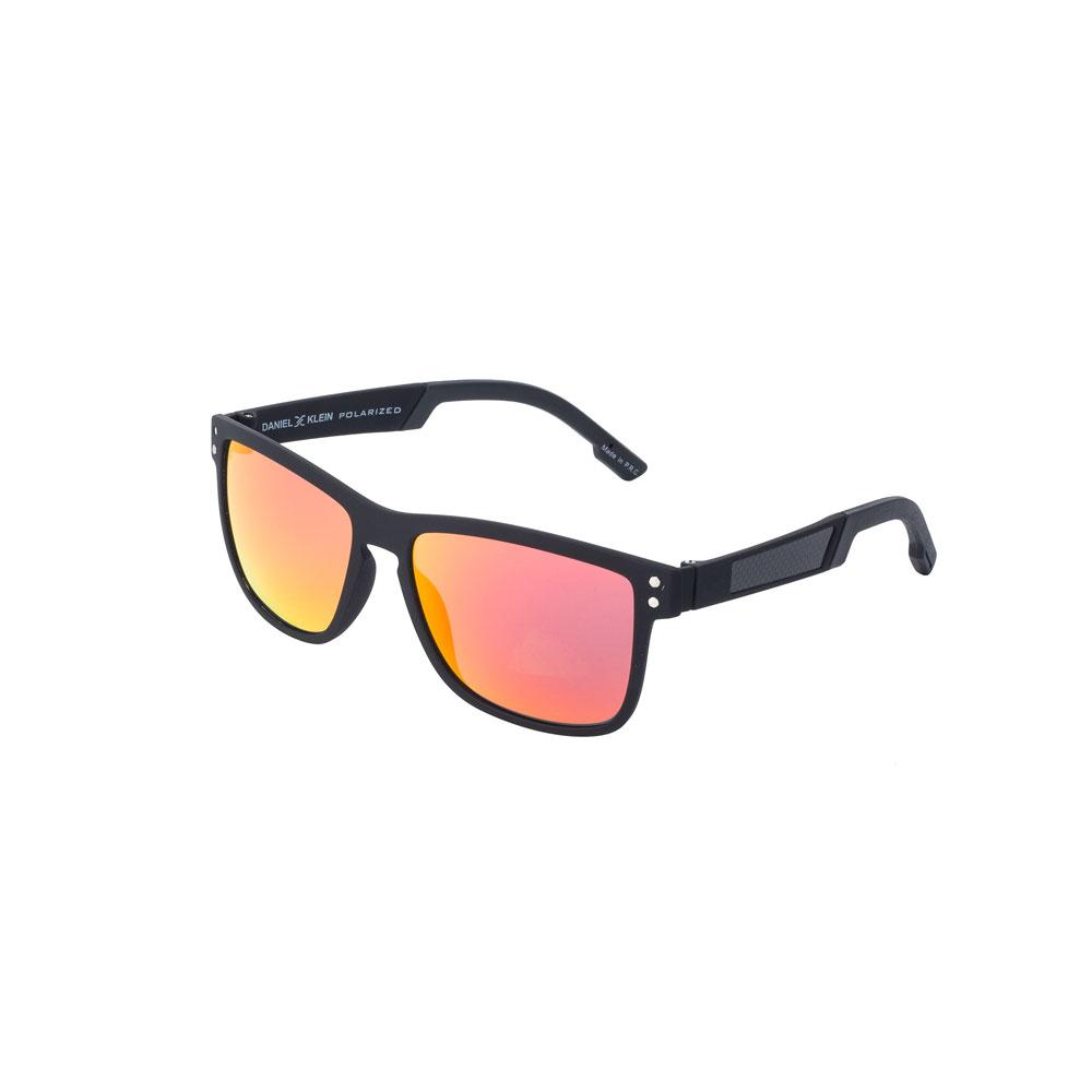 Ochelari de soare portocalii, pentru barbati, Daniel Klein Premium, DK3139-2