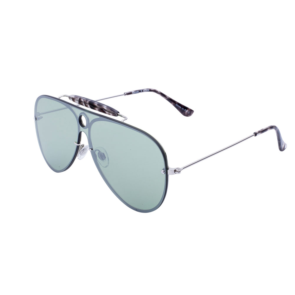 Ochelari de soare verzi, pentru dama, Daniel Klein Trendy, DK4211P-4