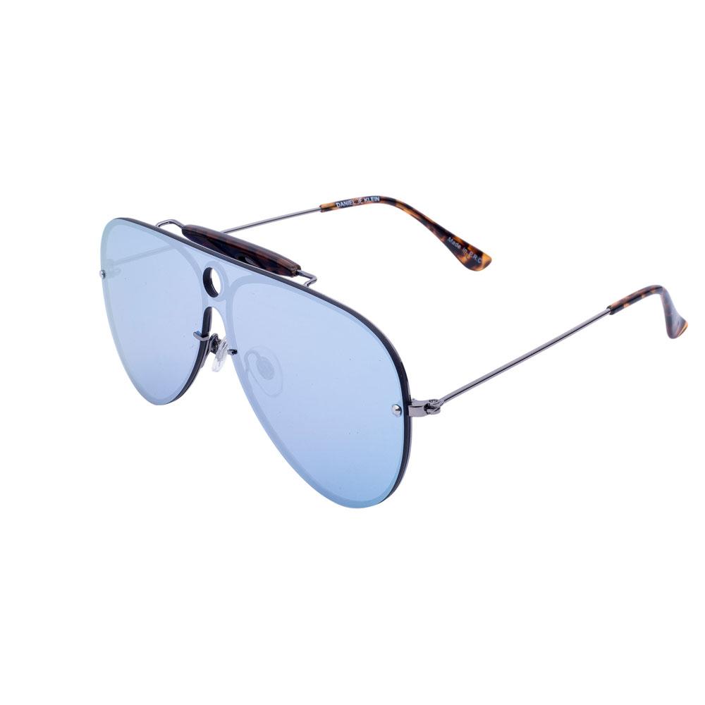 Ochelari de soare albastri, pentru dama, Daniel Klein Trendy, DK4211P-2