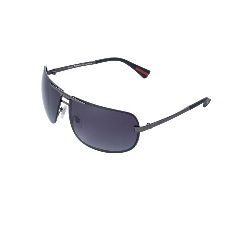 Ochelari de soare antracit, pentru barbati, Daniel Klein Premium, DK3076-3