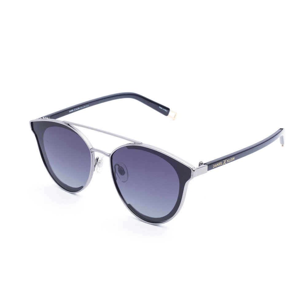 Ochelari de soare antracit, pentru dama, Daniel Klein Trendy DK4173-6