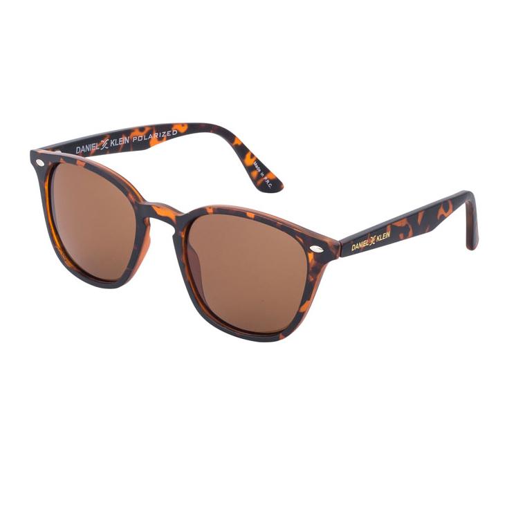 Ochelari de soare maro, pentru barbati, Daniel Klein Premium DK3166-2
