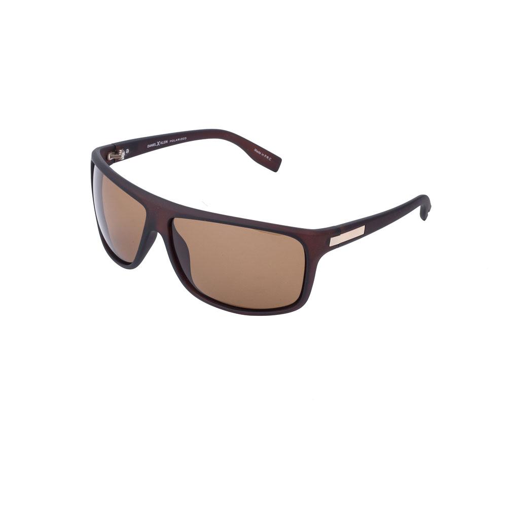 Ochelari de soare maro, pentru barbati, Daniel Klein Premium DK3172-3