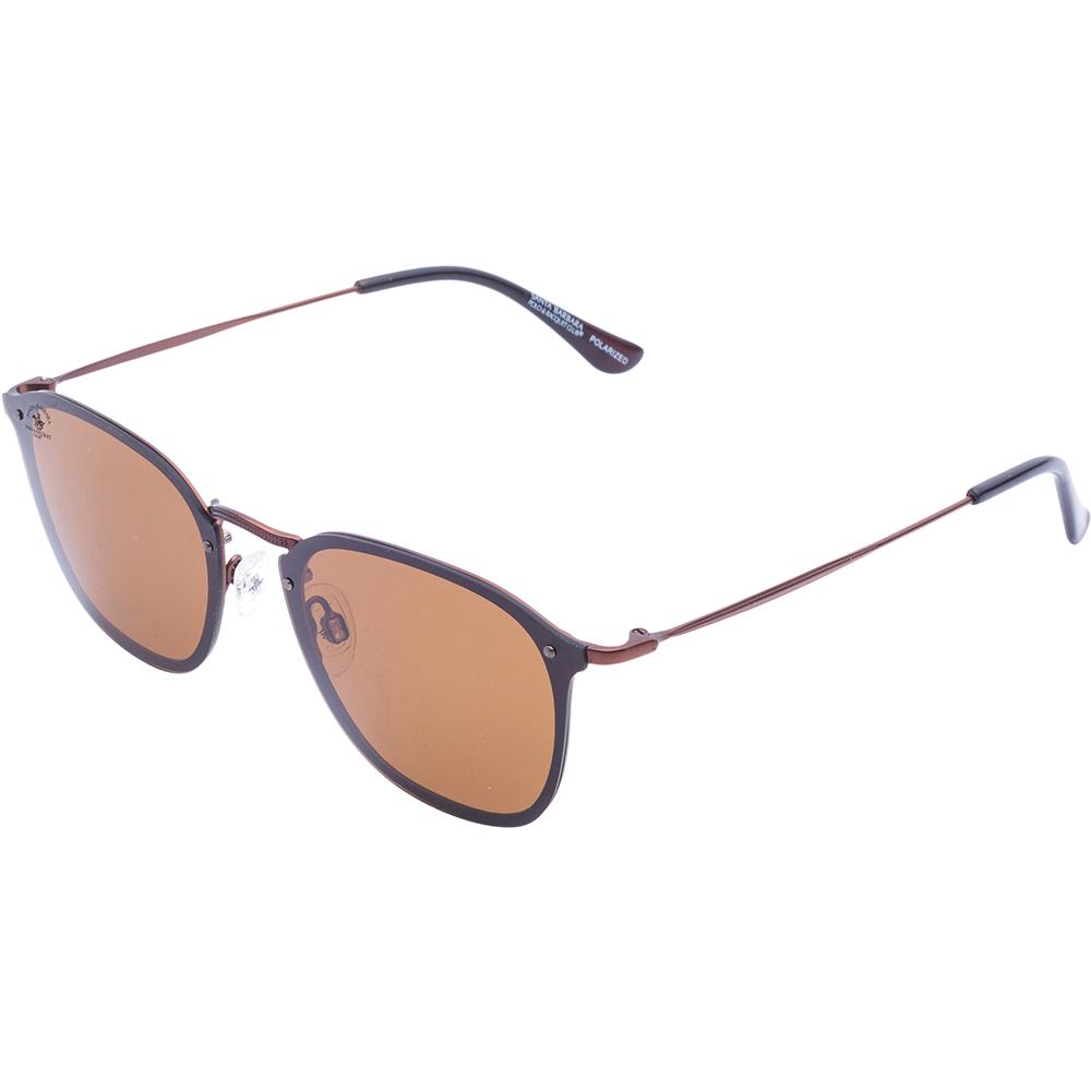 Ochelari de soare maro, pentru barbati, Santa Barbara Polo Legend, SB1023-4