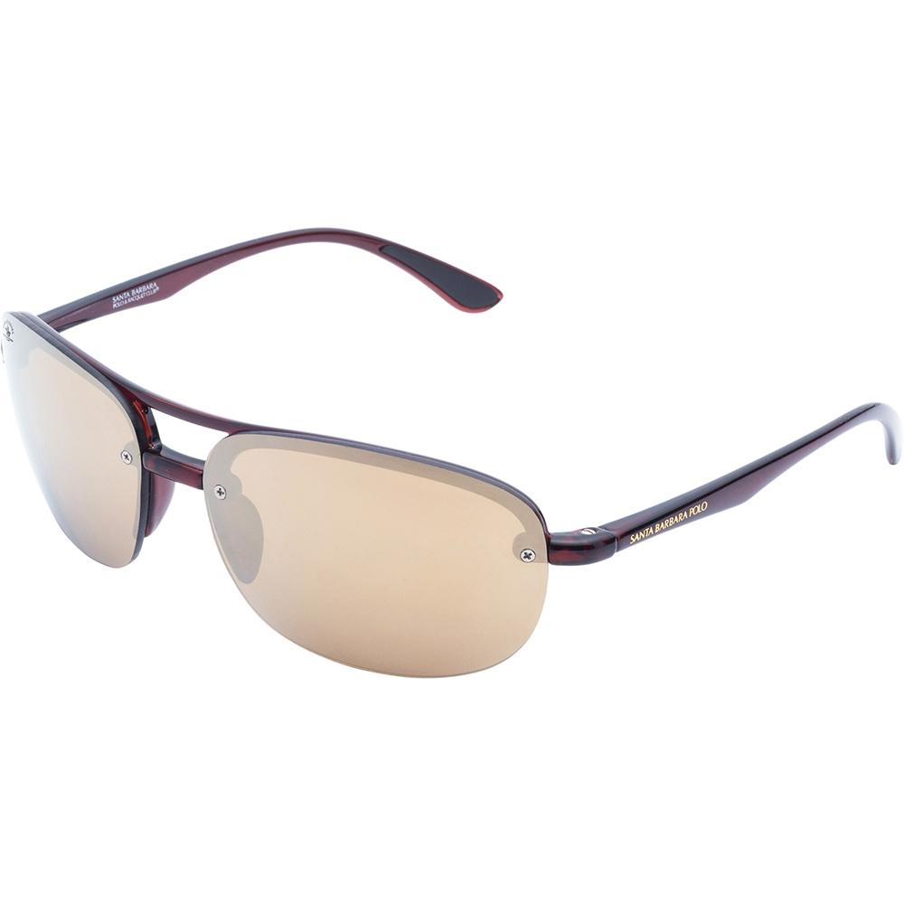 Ochelari de soare maro, pentru barbati, Santa Barbara Polo Legend, SB1035P-3