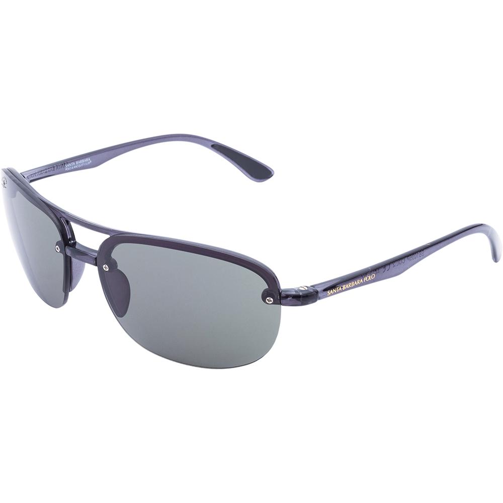 Ochelari de soare negri, pentru barbati, Santa Barbara Polo Legend, SB1035P-2