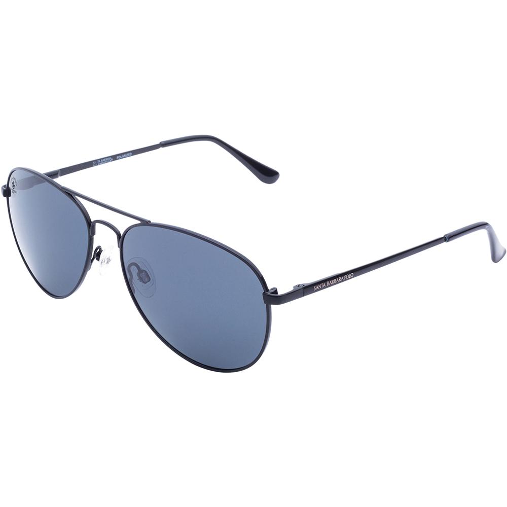 Ochelari de soare negri, pentru barbati, Santa Barbara Polo Noble, SB1031-1