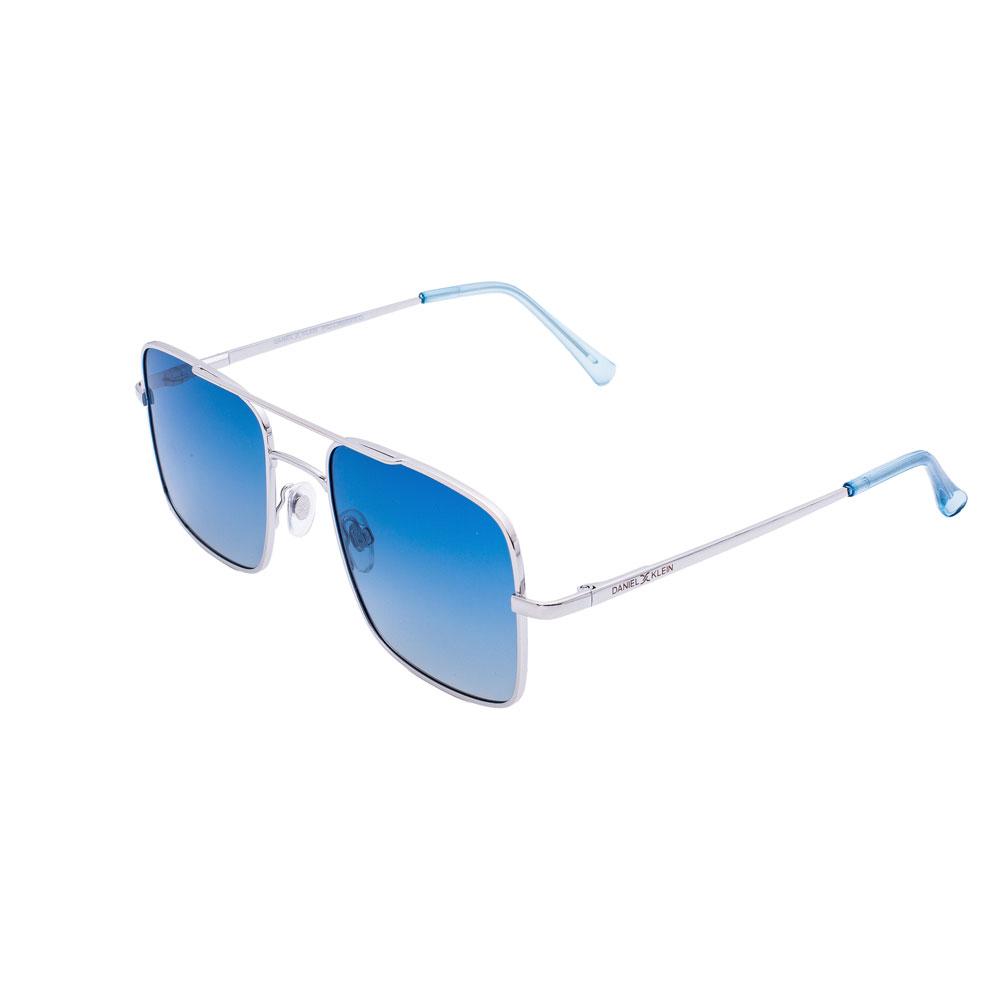 Ochelari de soare albastri, pentru dama, Daniel Klein Trendy, DK4236-2