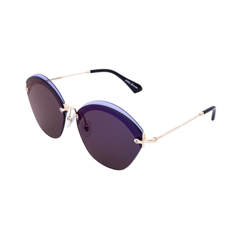 Ochelari de soare albastri, pentru dama, Daniel Klein Trendy, DK4249-4