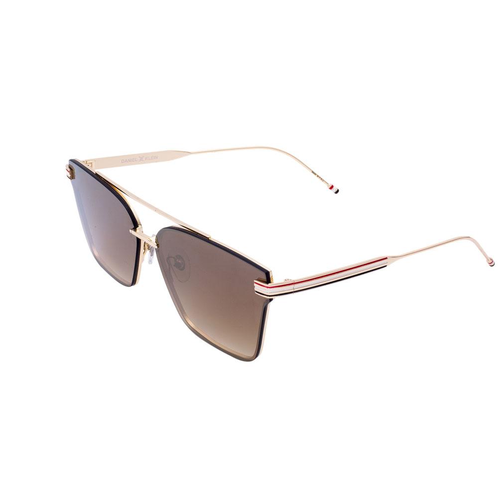 Ochelari de soare maro, pentru dama, Daniel Klein Trendy, DK4240P-3