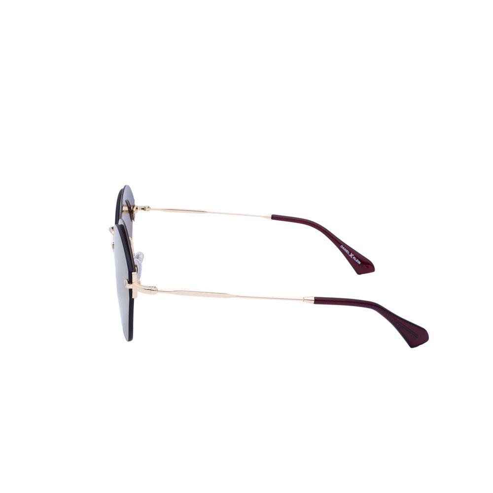 Ochelari de soare maro, pentru dama, Daniel Klein Trendy, DK4249-3