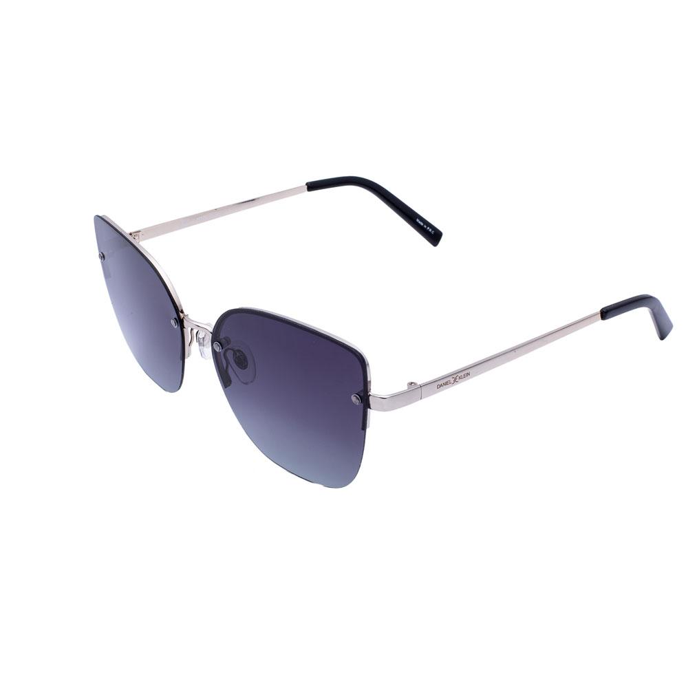 Ochelari de soare negri, pentru dama, Daniel Klein Trendy, DK4234-1