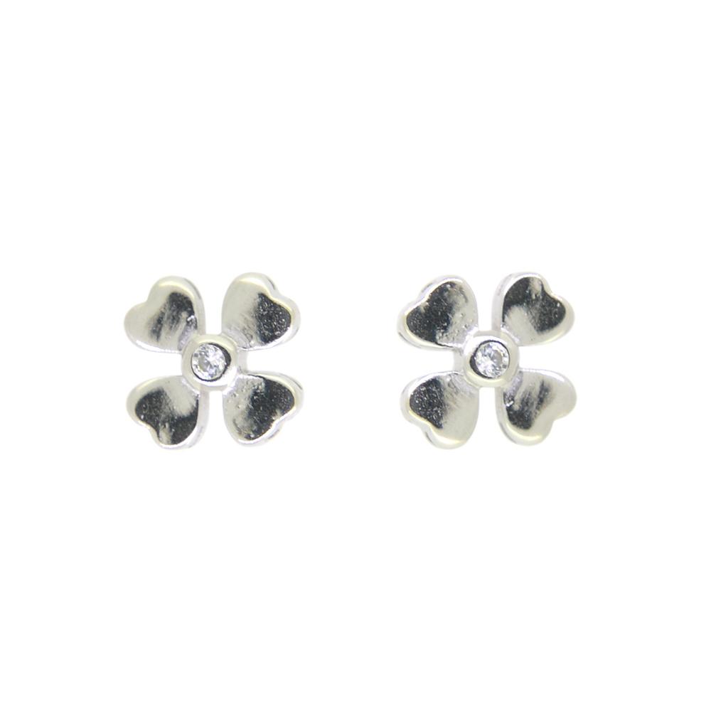 Cercei trifoi din Argint 925
