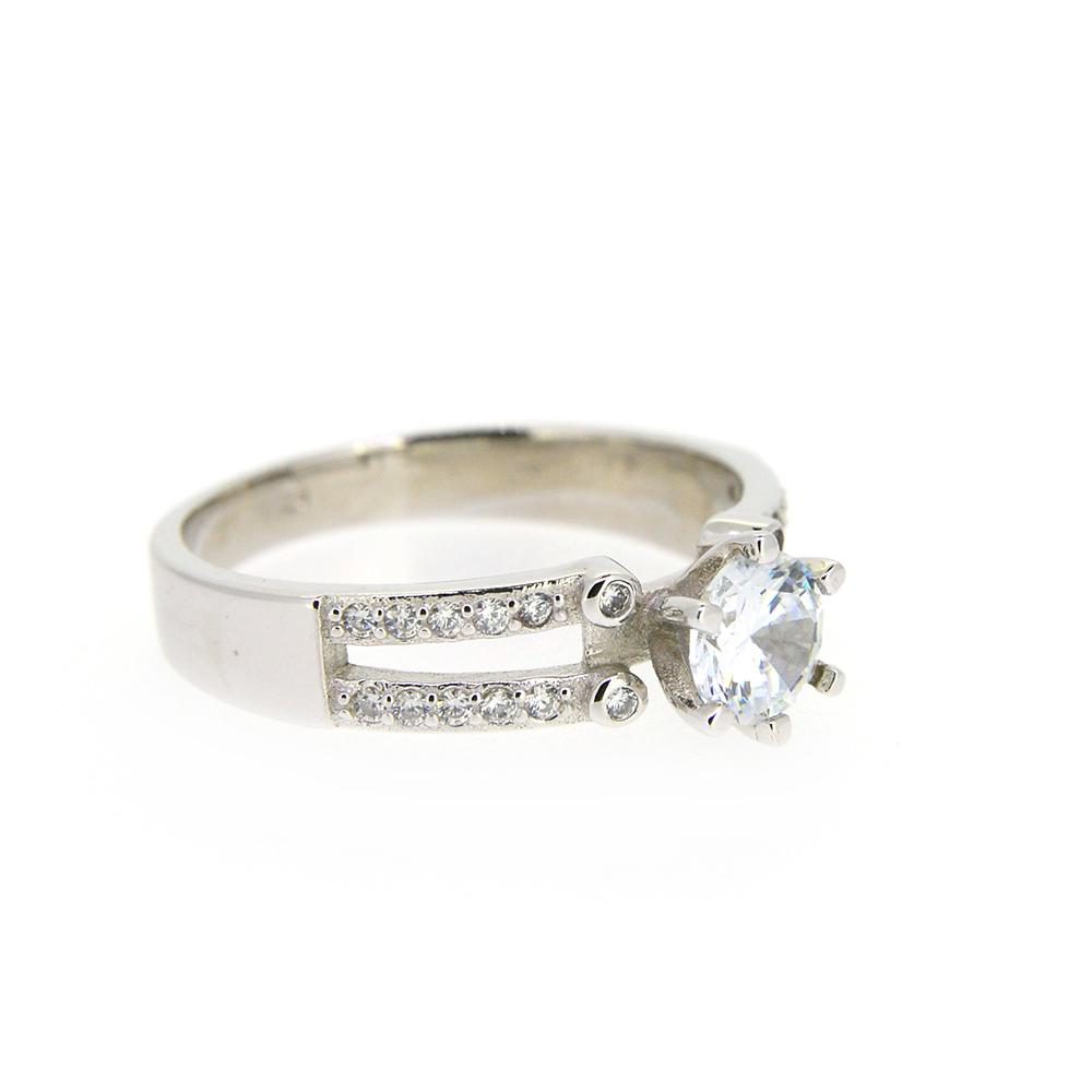 Inel de logodna, din Argint 925, m56