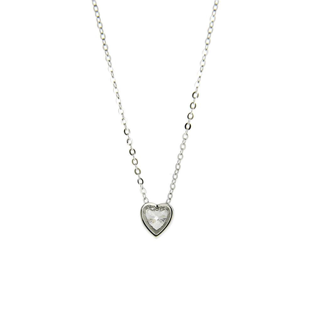 Lant Argint 925 cu pandantiv inimioara