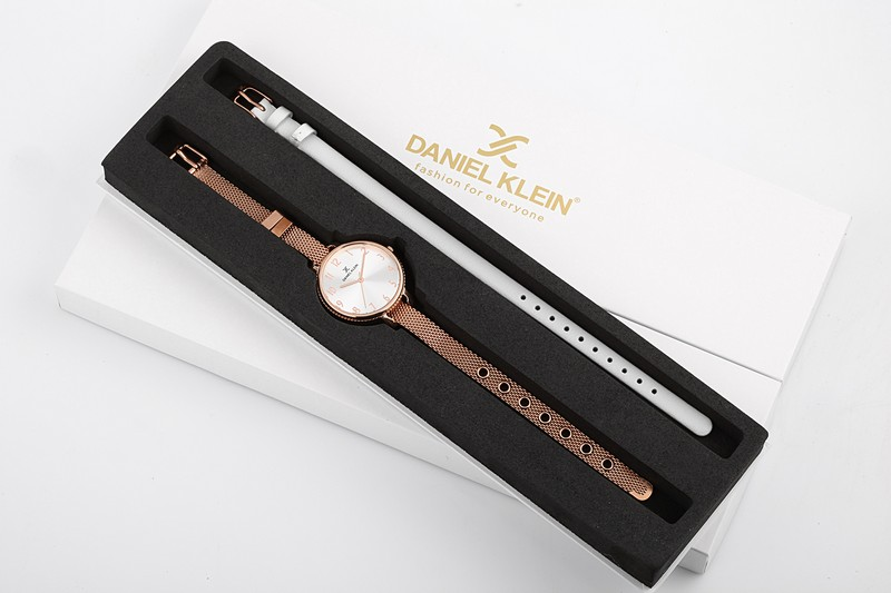 Ceas pentru dama, Daniel Klein Gift Set, DK11793-3