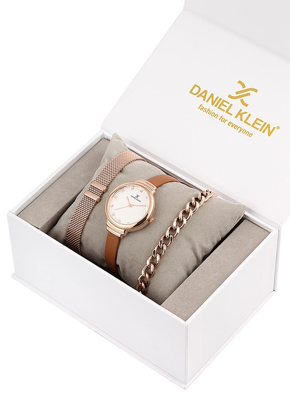 Ceas pentru dama, Daniel Klein Gift Set, DK11796-3