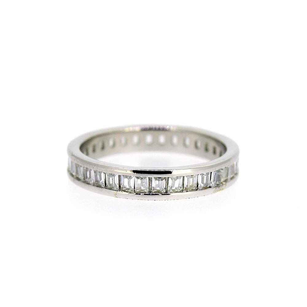 Inel tip logodna, din Argint 925, cu zirconii albe, m51