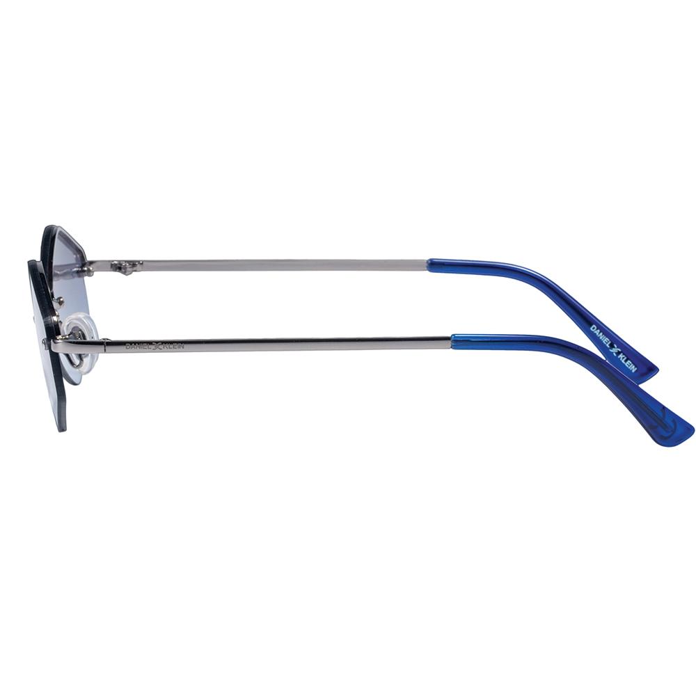 Ochelari de soare albastri, pentru dama, Daniel Klein Trendy, DK4278P-3