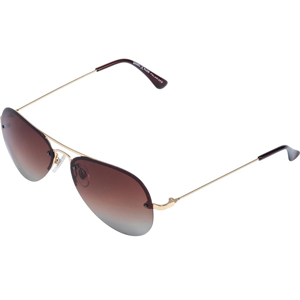 Ochelari de soare cafenii, pentru barbati, Daniel Klein Premium, DK1087-10
