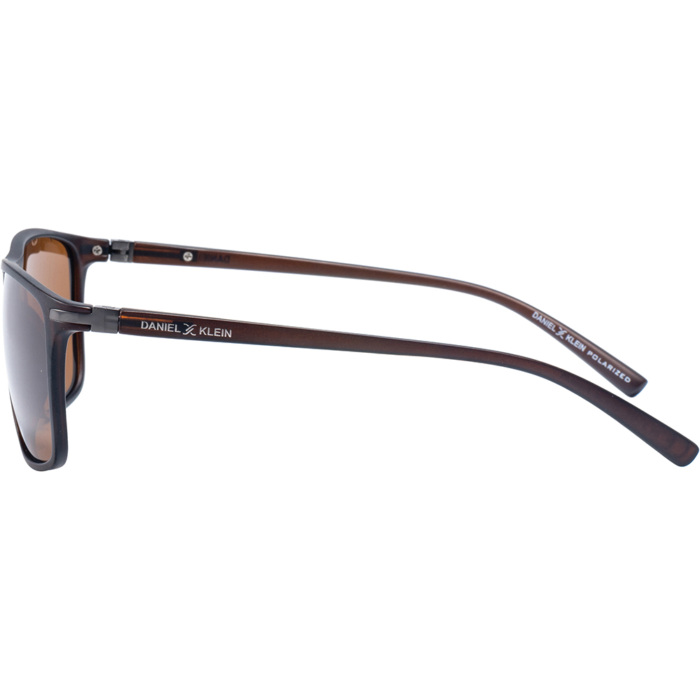 Ochelari de soare cafenii, pentru barbati, Daniel Klein Premium, DK3197-4