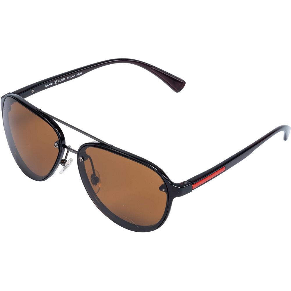 Ochelari de soare cafenii, pentru barbati, Daniel Klein Premium, DK3200-4